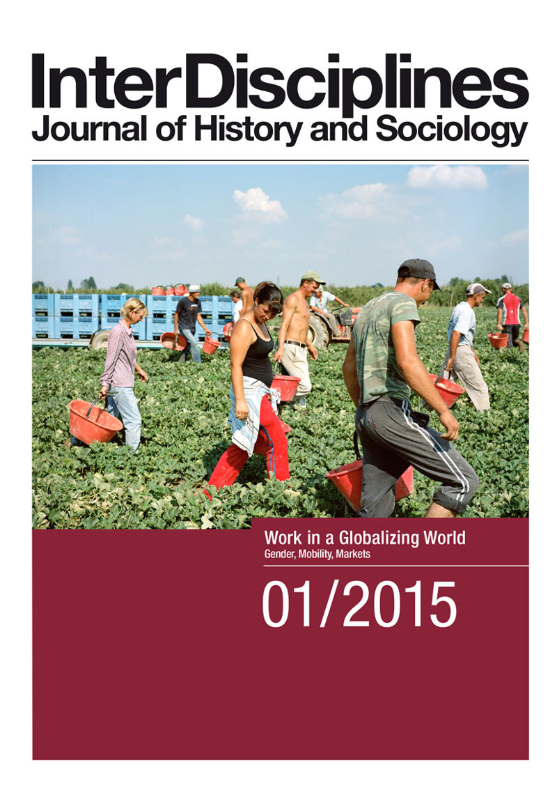 View Vol. 6 No. 1 (2015): Work in a Globalizing World: Gender, Mobility, Markets