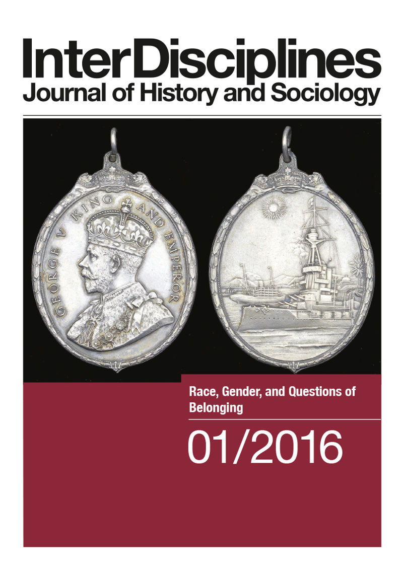 View Vol. 7 No. 1 (2016): Race, Gender, and Questions of Belonging