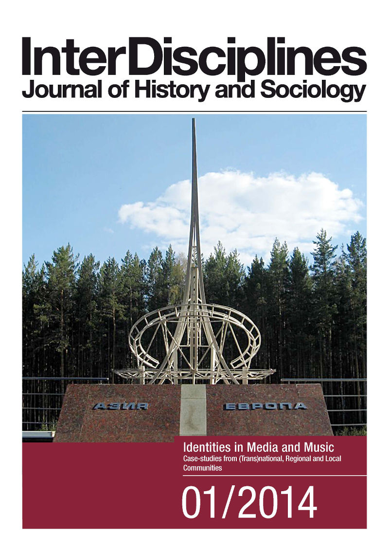 View Vol. 5 No. 1 (2014): Identities in media and music. Case-studies from (trans)national, regional and local communities